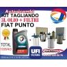 KIT TAGLIANDO UFI FIAT PUNTO 1.2 16V 59 KW DAL 6/2003 IN POI +3L OLIO TOTAL